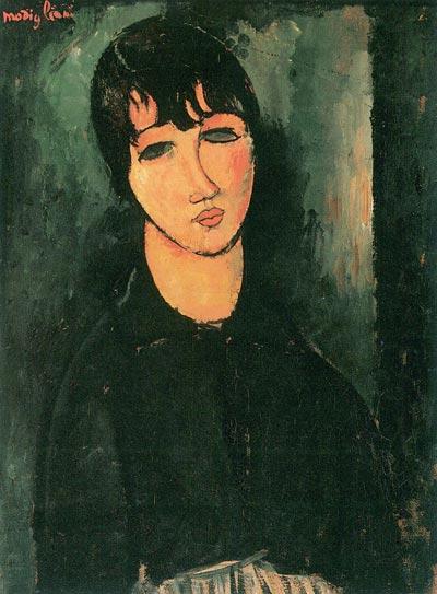 Amedeo Modigliani, La Femme de chambre, 1916
