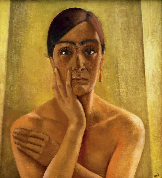 Anita Rée, Autoportrait, 1929