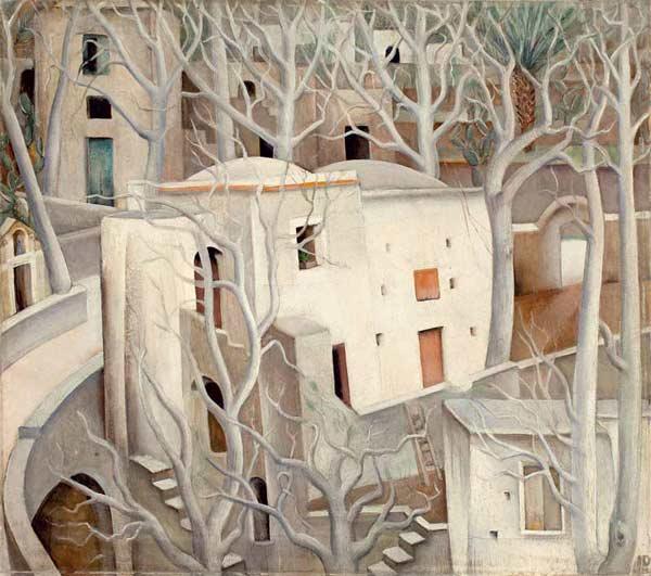 Anita Rée, Les arbres blancs, 1925
