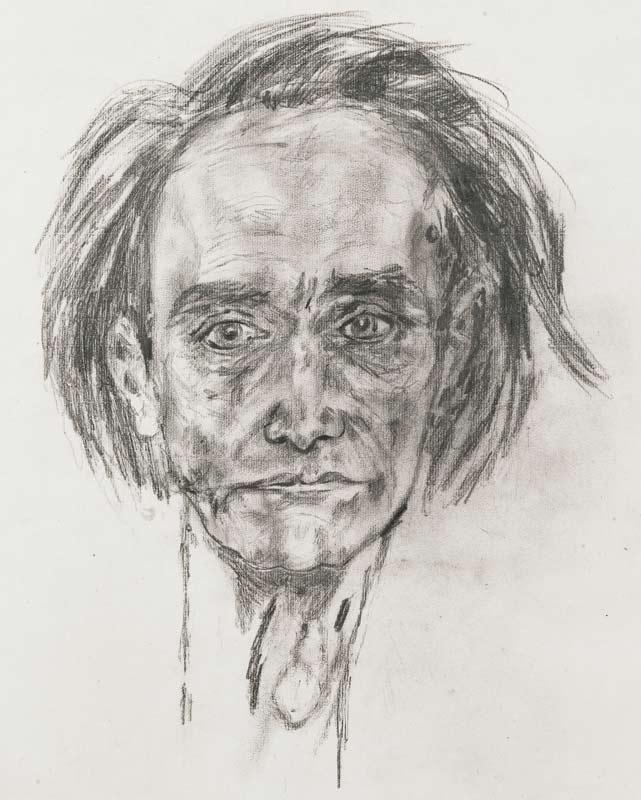 Antonin Artaud, Autoportrait, 1946