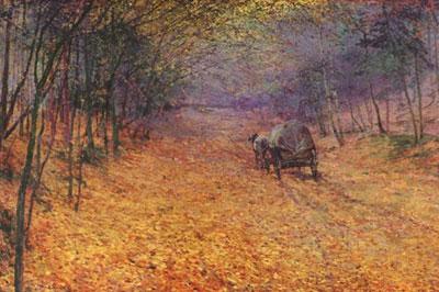 Antonin Slavicek, Dans le brouillard d'automne, 1897