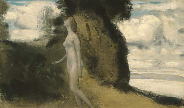 Arthur Bowen Davies, Une mesure de rêves, 1908