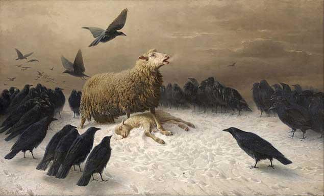 August Friedrich Schenck, Angoisse, 1878