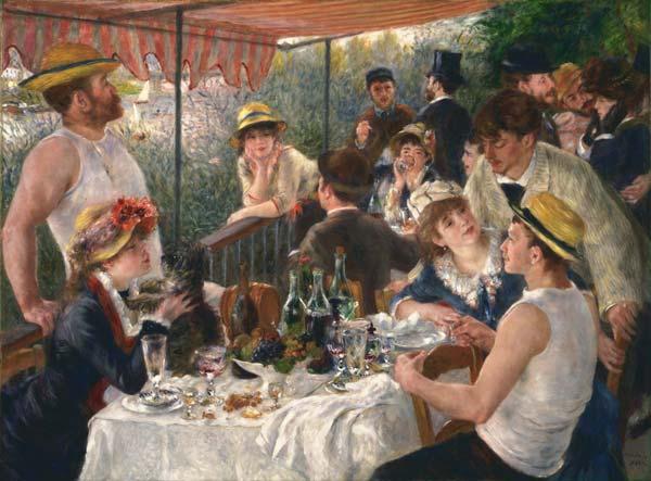 Auguste Renoir, Le Déjeuner des canotiers, 1880