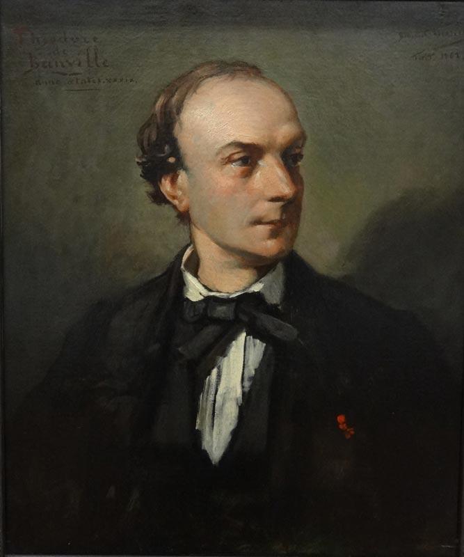 Bénédict Masson, Portrait de Théodore de Banville, 1862