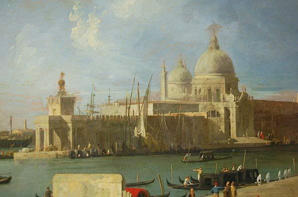 Canaletto, Venise, L'Eglise de la Salute depuis le grand canal, 1730