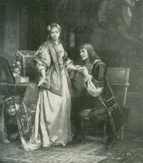 Carl Hoff, Tartuffe de Molière, 1892