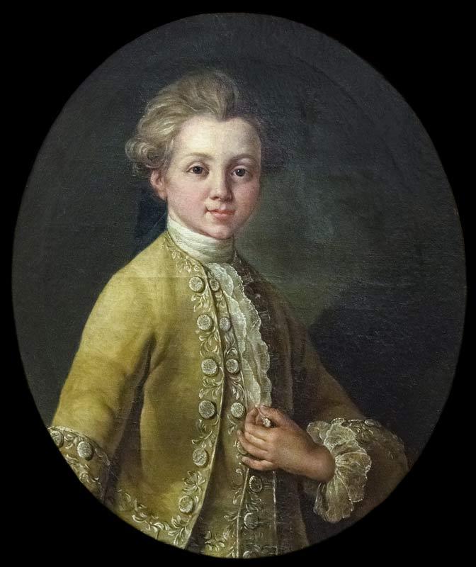 Cazes fils, Portrait d'André Chenier, 1773