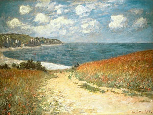 Claude Monet, Chemin dans les blés à Pourville, 1882
