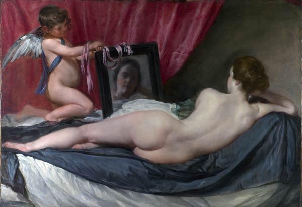 Diego Velázquez, Vénus à son miroir, 1651