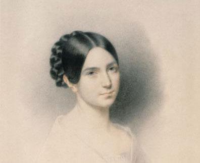 Edouard Dubufe, Léopoldine Hugo à dix-huit ans, 1843