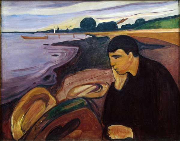 Edvard Munch, Mélancolie, 1894