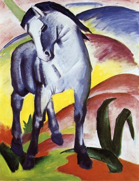 Franz Marc, Cheval bleu I, 1911