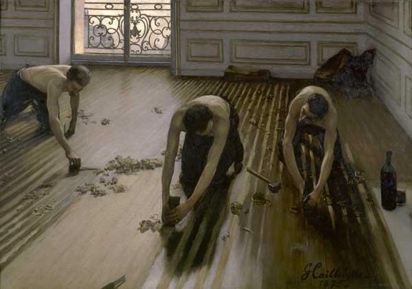 Gustave Caillebotte, Les Raboteurs de parquet, 1875