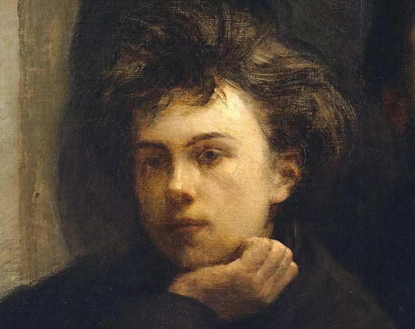 Henri Fantin-Latour, Portrait d'Arthur Rimbaud, 1872