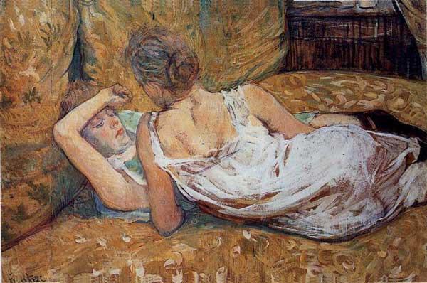 Henri de Toulouse-Lautrec, Les deux amies, 1895