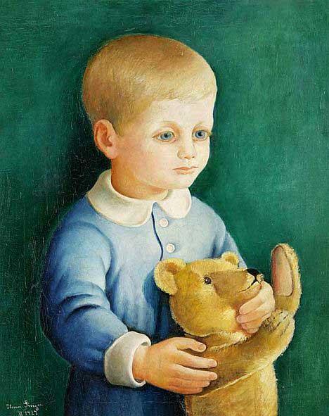 Ilona Singer, Un garcon avec un nounours, 1927