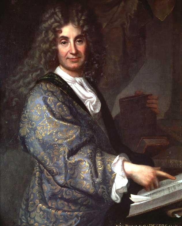 Jean-Baptiste Santerre, Portrait de Nicolas Boileau, 1678