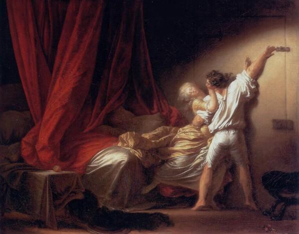 Jean-Honoré Fragonard, Le Verrou, 1778