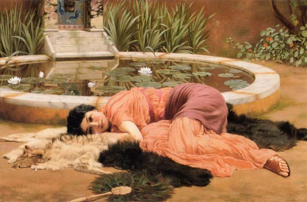 John William Godward, Dolce Far Niente, 1904