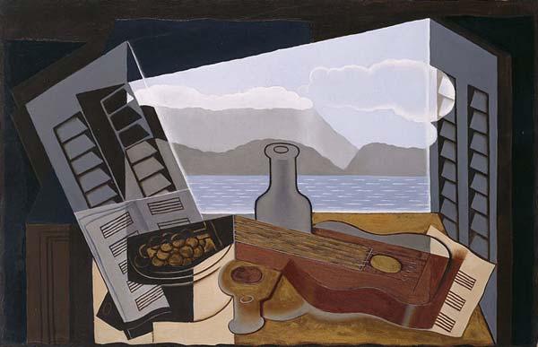 Juan Gris, La fenêtre ouverte, 1921