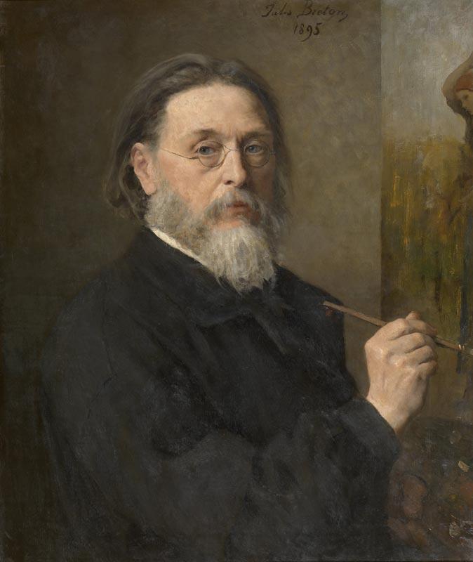 Jules Breton, Autoportrait, 1895