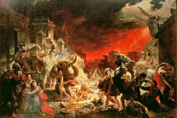 Karl Pavlovich Bryullov, Le Dernier Jour de Pompéi, 1833