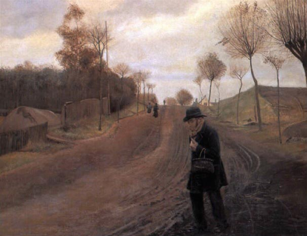 Laurits Andersen Ring, Route à Naestved, 1890