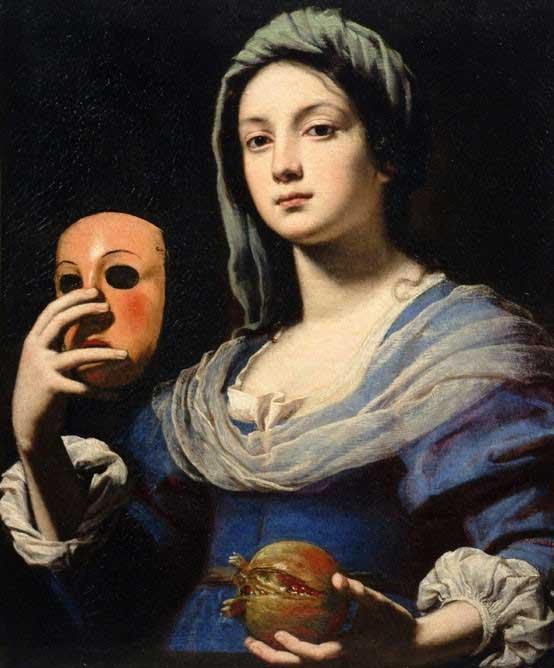 Lorenzo Lippi, La femme au masque, 1640