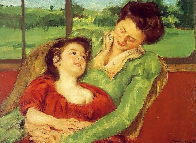 Mary Cassatt, Mère et enfant, 1902