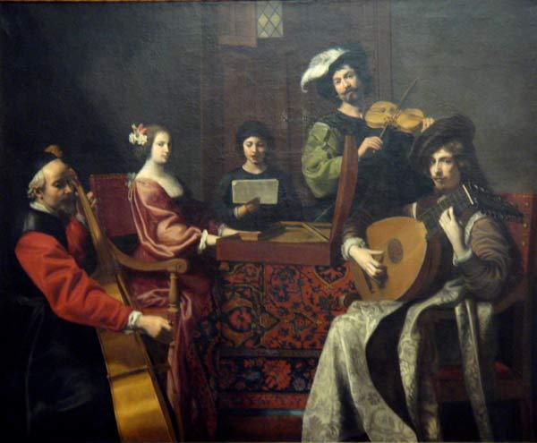 Nicolas Tournier, Le concert, 1630