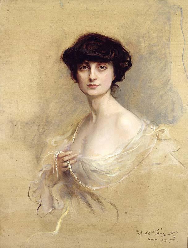 Anna-Elisabeth, comtesse de Noailles, de Philip Alexius de László, 1913