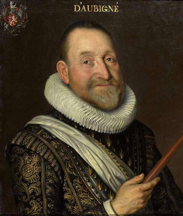 Portrait de Théodore Agrippa d'Aubigné, 1622