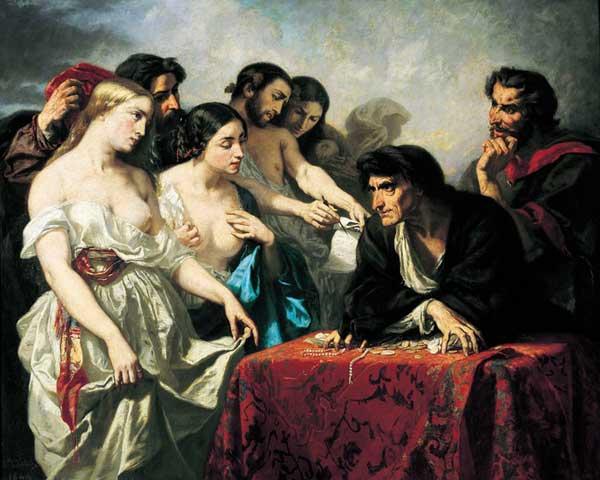 Thomas Couture, Soif de l'or, 1844