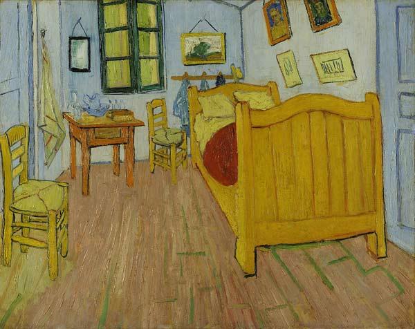 Vincent Van Gogh, La chambre à Arles, 1888